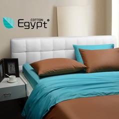 卧室-新!慢漫纯色 纯棉60支贡缎埃及棉长