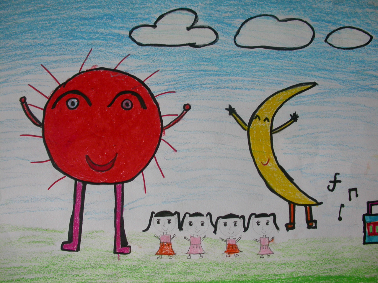 儿童画地球图片展示_儿童画地球相关图片下载图片