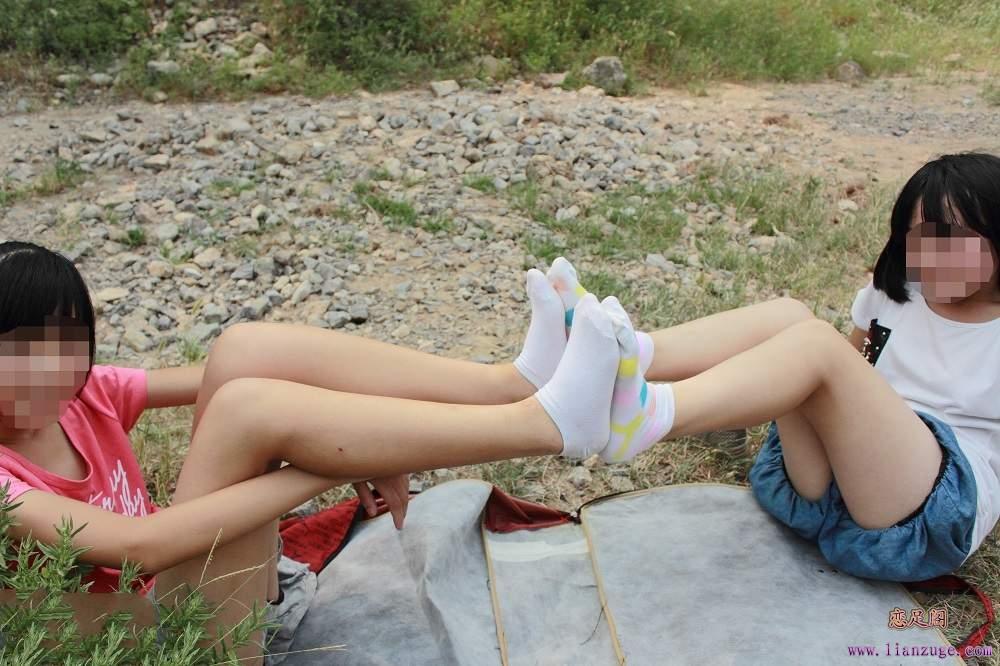 美女白袜棉袜