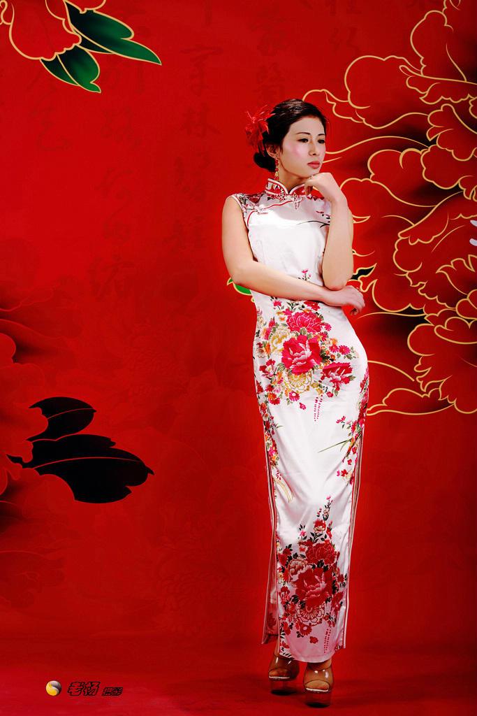 中国风―旗袍美女 情怀婷婷的空间