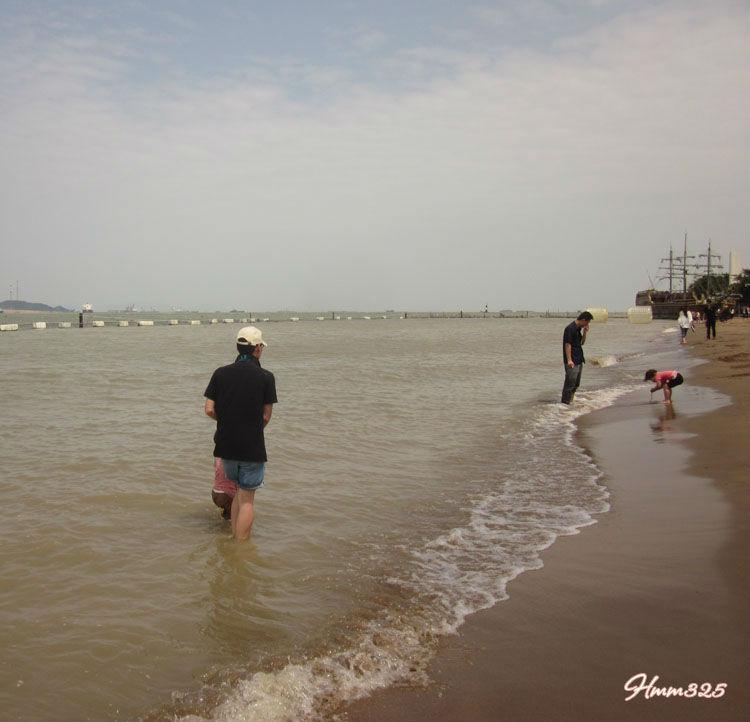 广州南沙天后宫   另一处小小的海滩   广州四海伟业-海边旅高清图片