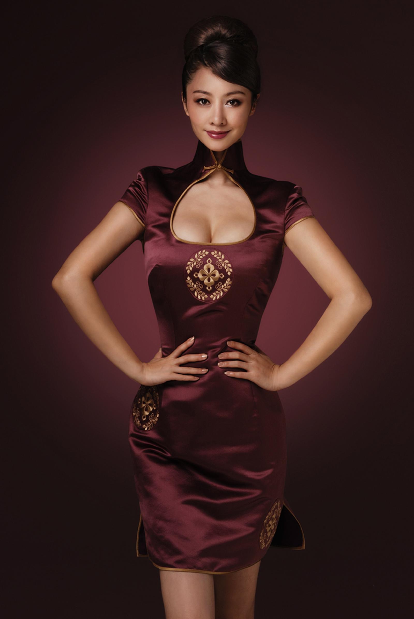旗袍美女的诱惑2