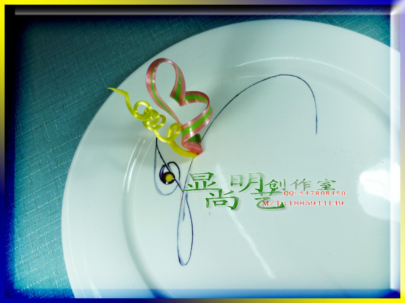 果酱画摆盘围边盘式图片,果酱盘饰画盘子图图片