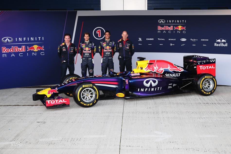 红牛F1车队新车RB10