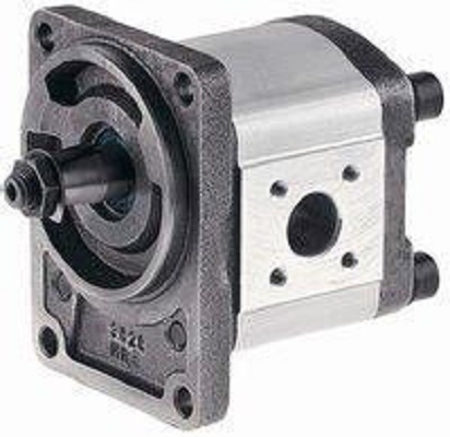 使泵壳内相互啮合的两个(或两个以上)齿轮转动的液压马达.图片