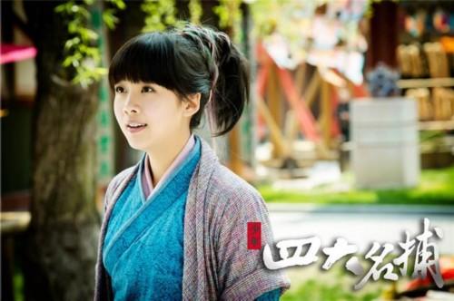 2011年因在古装剧《陆贞无缝》中受到何丹娘一角而关注饰演.谍战大剧天依传奇图片