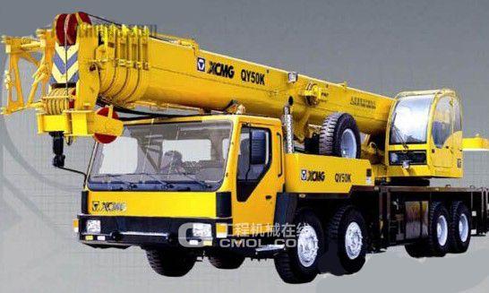 徐工qy50k-Ⅱ起重机图片