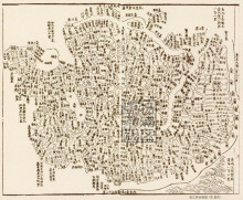 Songjiang House map (Qing Jiaqing)