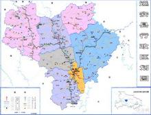 远安县行政区划图