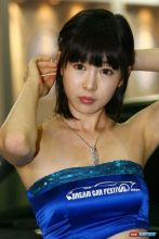 韩国顶级车模李佳娜