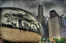 芝加哥新地标——云门