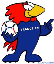 1998年 法国世界杯的吉祥物