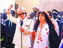 卡扎菲与萨菲亚