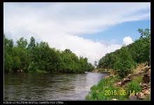 哈拉哈河美景