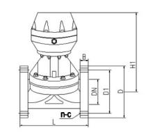 气动塑料隔膜阀图片