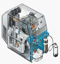 高压空气压缩机图片