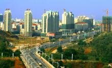 蓬勃发展的开发区