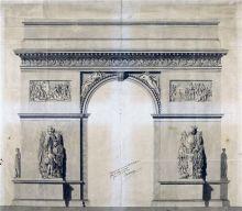 凯旋门设计图纸