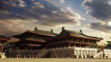 Tang Daming Palace restoration map
