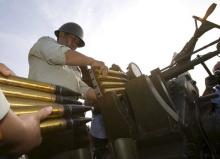 气象武器野外训练