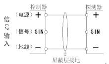 二氧化硫报警器施工接线图