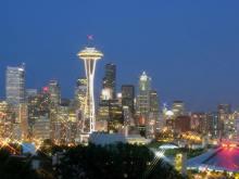 西雅图的标志――太空针塔