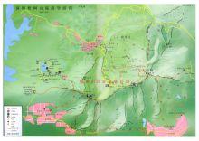 梧桐山导游图