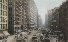 1907年的芝加哥州街(State Street)