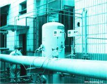 输气管道 →用气端口  (4)单向阀,让压缩空气从压缩机进入气罐,当压缩图片