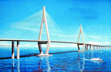 港珠澳大桥效果图