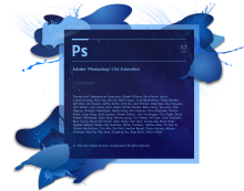 Aodobe Photoshop cs6 extended 启动界面