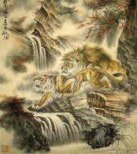 区丽庄中国画作品