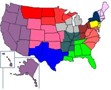美国联邦储备区域