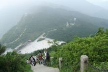 梧桐山好汉坡景色