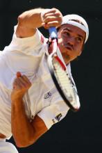 哈斯2009年温网赛场英姿