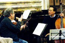 马友友和小提琴家伊扎克·帕尔曼