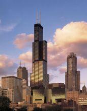 西尔斯大楼:1973-1998年世界最高建筑