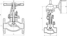 美标波纹管截止阀 ZDAJ41W型