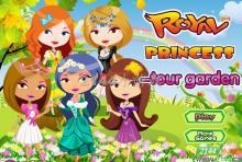 五公主花园换装游戏截图
