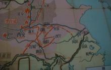 明末农民起义作战地图