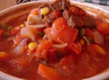 特色美食番茄牛腩图片