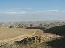 黄土高原上的西海固地貌