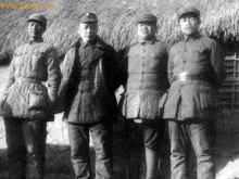 左起:曾山、陈毅、赖传珠、饶漱石