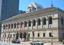 波士顿图书馆