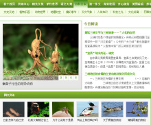 秋千网—《百科全说》栏目网页
