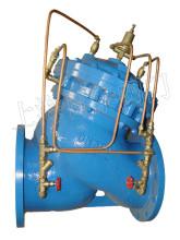 是一种智能水力控制阀,该阀门可同时起到持压阀,恒压阀,恒流阀,防水图片