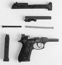 M9手枪拆解