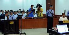 原重庆公安局长王立军出庭作证