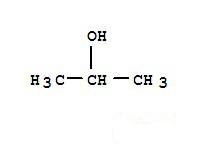 异丙醇化学结构图