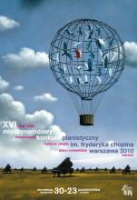2010年第十六届肖邦国际钢琴比赛海报